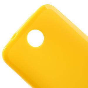 Gélové puzdro pre HTC Desire 300 Zara mini -žlté - 3
