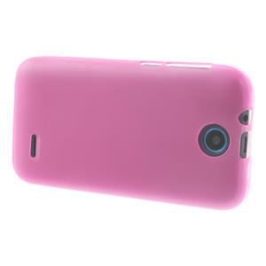 Gélové puzdro na HTC Desire 310- růžové - 3