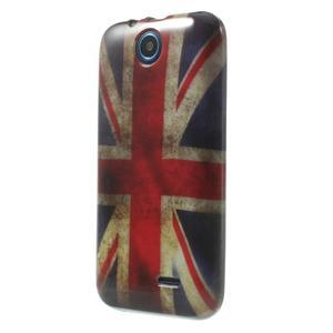 Gélové puzdro pre HTC Desire 310- UK vlajka - 3