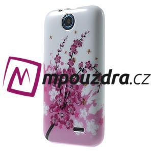 Gélové puzdro pre HTC Desire 310- kvitnúca vetva - 3