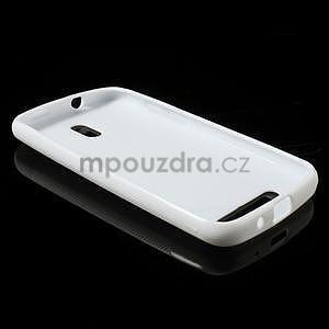 Gélové puzdro pre HTC Desire 500- biele - 3