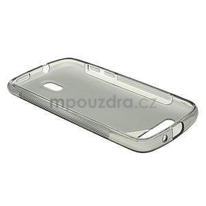 Gélové puzdro pre HTC Desire 500- šedé - 3