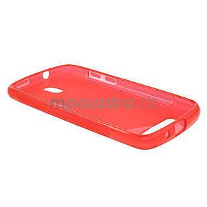 Gélové puzdro pre HTC Desire 500- červené - 3