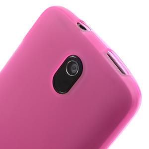 Gélové matné puzdro pre HTC Desire 500- růžové - 3