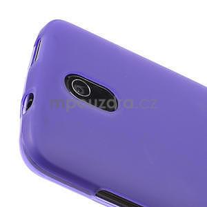Gélové matné puzdro pre HTC Desire 500- fialové - 3