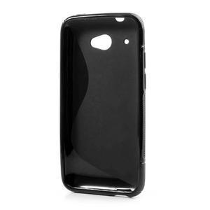 Gelove S-line puzdro pre HTC Desire 601- čierné - 3