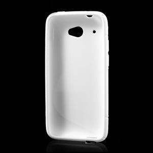 Gelove S-line puzdro pre HTC Desire 601- biele - 3