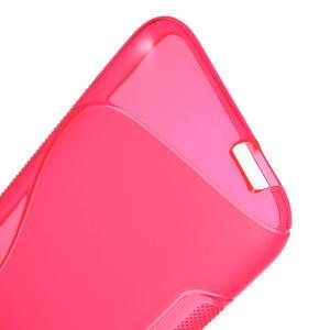 Gelove S-line puzdro pre HTC Desire 601- růžové - 3