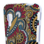 Gélové puzdro pre LG Optimus L5 Dual E455- kmenové kvety - 3/4