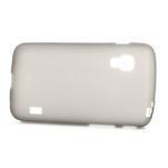 Matné gélové puzdro pre LG Optimus L5 Dual E455- sivé - 3/4