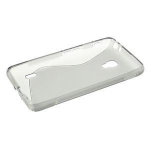 Gélové S-line puzdro na LG Optimus F6 D505- šedé - 3