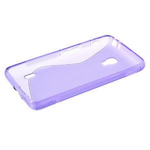 Gélové S-line puzdro na LG Optimus F6 D505- fialové - 3