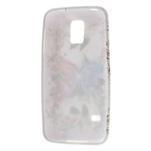 Gélové puzdro pre Samsung Galaxy S5 mini G-800- farebný motýl - 3/5