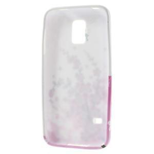 Gelové pouzdro na Samsung Galaxy S5 mini G-800- kvetoucí větvička - 3