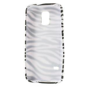 Gélové puzdro pre Samsung Galaxy S5 mini G-800- zebrovité - 3