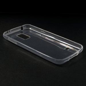 Gélové 0.6mm puzdro pre Samsung Galaxy S5 mini G-800- transparentný - 3