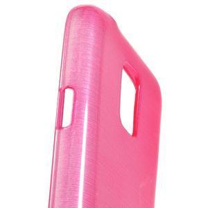 Kartáčové pouzdro na Samsung Galaxy S5 mini G-800- růžové - 3