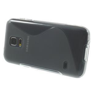 Gelové S-line pouzdro na Samsung Galaxy S5 mini G-800- šedé - 3