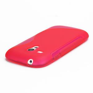 Růžové gélové puzdro pre Samsung Galaxy S3 mini / i8190 - 3