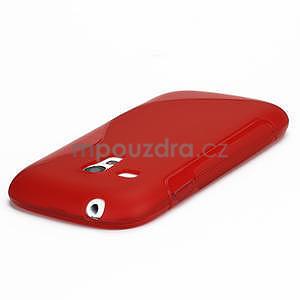 Červené gélové puzdro pre Samsung Galaxy S3 mini / i8190 - 3