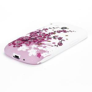 Gélové puzdro pre Samsung Galaxy S3 mini i8190- květiny - 3