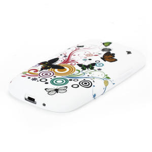 Gelové pouzdro pro Samsung Galaxy S3 mini i8190- motýlek - 3