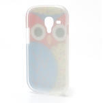 Gélové puzdro pre Samsung Galaxy S3 mini / i8190 - modrá Sova - 3/5