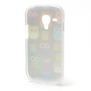 Gélové puzdro pre Samsung Galaxy S3 mini / i8190 - mini Sovy - 3