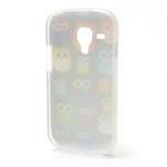 Gélové puzdro pre Samsung Galaxy S3 mini / i8190 - mini Sovy - 3/5