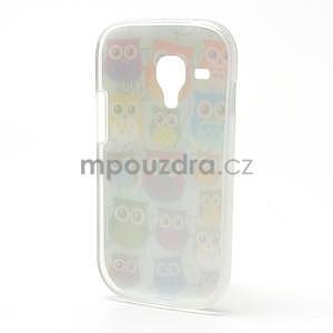 Gélové puzdro pre Samsung Galaxy S3 mini / i8190 - mini Sovy II - 3