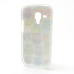 Gélové puzdro pre Samsung Galaxy S3 mini / i8190 - mini Sovy II - 3/5