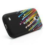 Gélové puzdro pro Samsung Galaxy S4 mini i9190- meteor farebný - 3/6