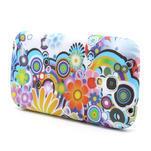 Gélové puzdro pro Samsung Galaxy S4 mini i9190- farebné kvety - 3/5