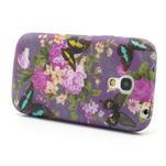 Gelové pouzdro pro Samsung Galaxy S4 mini i9190- květ pivoňky - 3/5