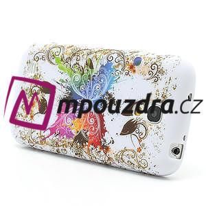 Gélové puzdro pro Samsung Galaxy S4 mini i9190- farebný motýl - 3