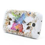 Gélové puzdro pro Samsung Galaxy S4 mini i9190- farebný motýl - 3/5