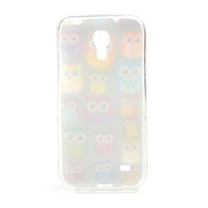 Gelové pouzdro na Samsung Galaxy S4 mini i9190- multi sovy - 3