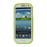 Puntíkové pouzdro pro Samsung Galaxy S3I i9300 - zelené - 3/3
