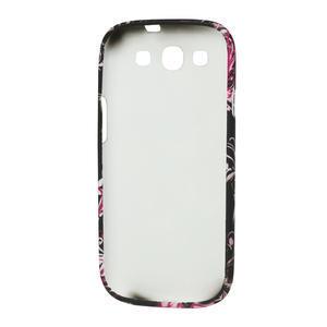 Gélové puzdro pre Samsung Galaxy S3 i9300 - MOTÝL - 3