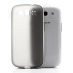 Gélové rámované puzdro pre Samsung Galaxy S3 i9300- šedé - 3/7