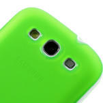 Gelové rámované pouzdro na Samsung Galaxy S3 i9300- zelené - 3/6