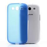 Gelové rámované pouzdro na Samsung Galaxy S3 i9300- modré - 3/6