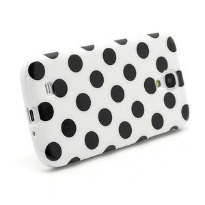 Gélové Puntík puzdro pre Samsung Galaxy S4 i9500- biele - 3