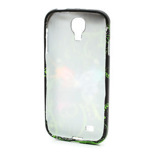 Gélové puzdro pro Samsung Galaxy S4 i9500- farebný motýl - 3