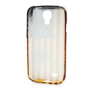 Gelové pouzdro pro Samsung Galaxy S4 i9500- Americká vlajka - 3