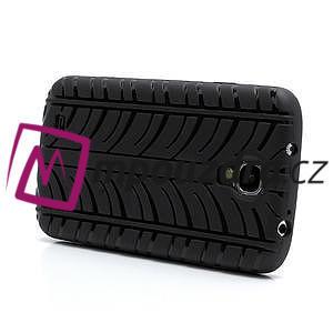 Gelové PNEU pouzdro pro Samsung Galaxy S4 i9500- černé - 3