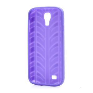 Gelové PNEU pouzdro pro Samsung Galaxy S4 i9500- fialové - 3