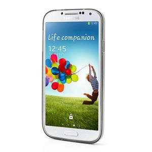 Gélové slim puzdro na Samsung Galaxy S4 i9500- šedé - 3