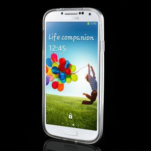 Gélové slim puzdro na Samsung Galaxy S4 i9500- biele - 3