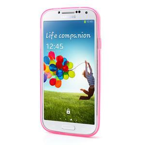 Gélové slim puzdro na Samsung Galaxy S4 i9500- růžové - 3